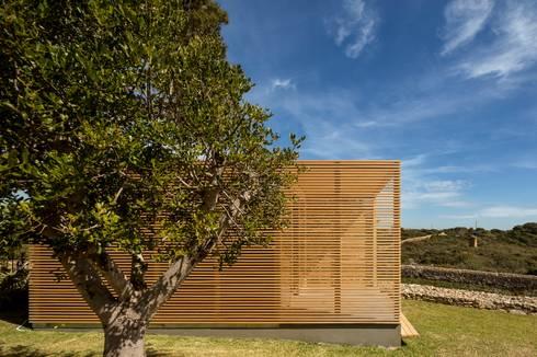 THE PAVILLION: Casas minimalistas por MARLENE ULDSCHMIDT