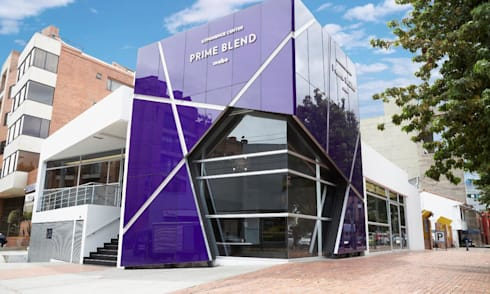 Prime Blend Mabe: Edificios de oficinas de estilo  por FRIERI Arquitectura