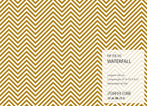 HF-FB-05-WATERFALL: Arte  por House Frame Wallpaper & Fabrics