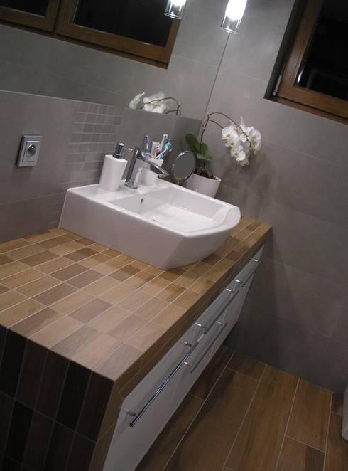 Baños de estilo  por Pracownia Projektowa ARCHIPELAG