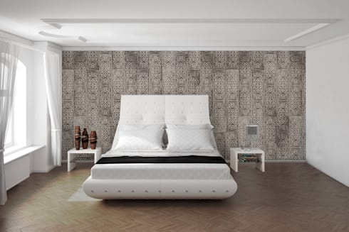 HF053-Pattern:   por House Frame Wallpaper & Fabrics