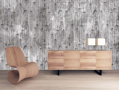 HF059-Feathers.jpg:   por House Frame Wallpaper & Fabrics