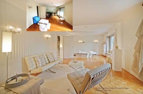 Wohnzimmer Gestaltung Mit BARCELONA Lounge Möbel   Home Staging Projekt:  Klassische Wohnzimmer Von Home Staging
