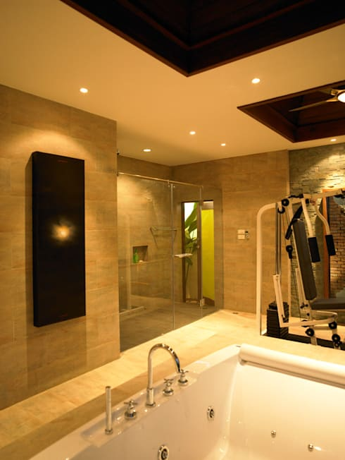 Casa Particular: Baños de estilo  de Bondian Living