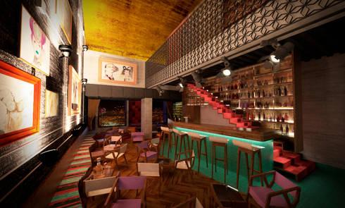 LA BOUTIQUE: Bares y discotecas de estilo  por tresarquitectos