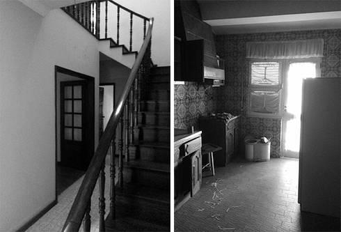 Casa na Póvoa de Varzim:   por ASVS Arquitectos Associados