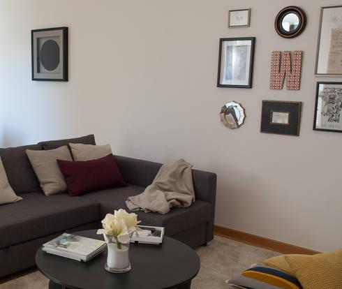 Sala de estar:   por EspaçodeIdeias