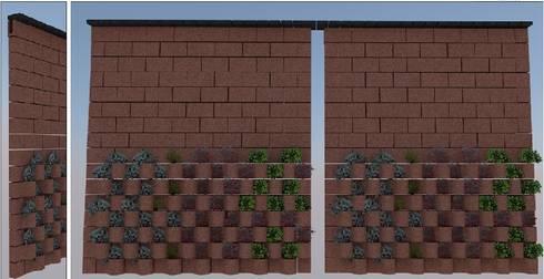 FLORESTA: Jardines de estilo moderno por ENFOQUE CONSTRUCTIVO