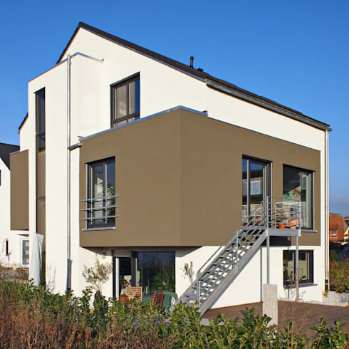 Architektur Atelier 2 familien doppelhaushälfte in plankstadt by miccoli architektur i immobilien i atelier homify