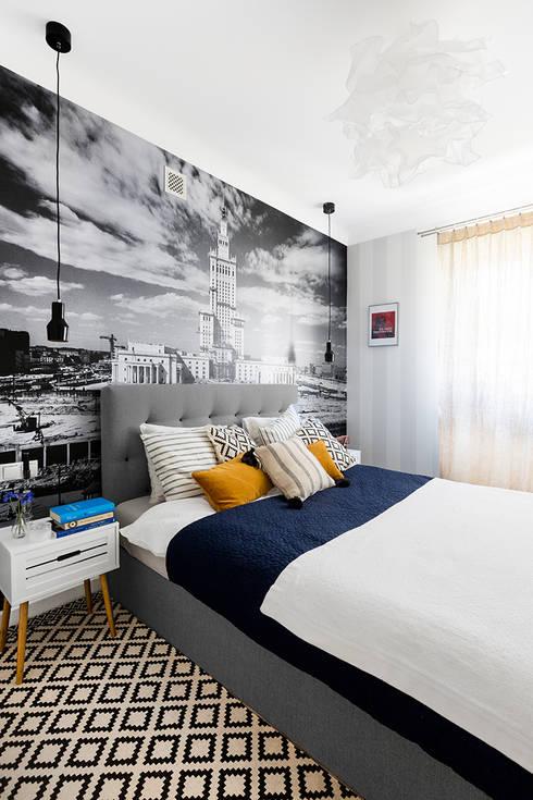 Dagmara Zawadzka Architektura Wnętrz의  침실