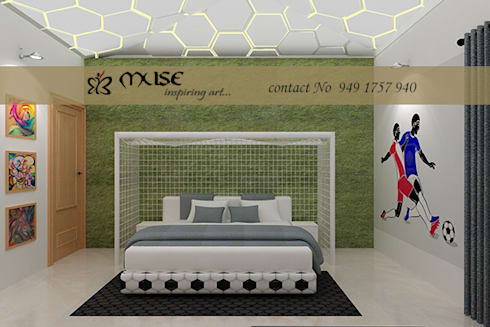 Residential pProjects: modern Nursery/kid's room by Muse Interiors