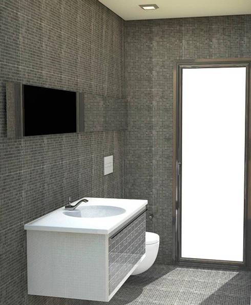 Phòng tắm by NUÑO ARQUITECTOS
