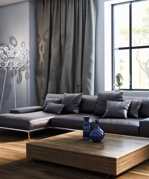 Menz Design – Salon: modern tarz Oturma Odası