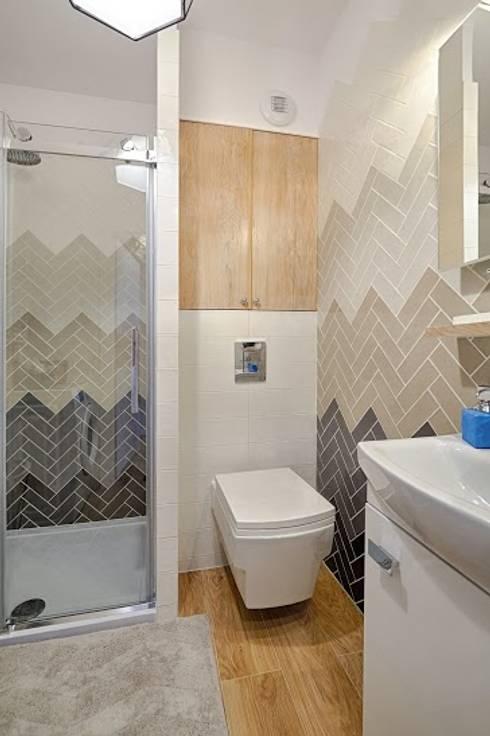Casas de banho escandinavas por DreamHouse.info.pl