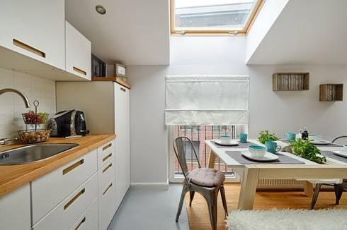 Salas de estar escandinavas por DreamHouse.info.pl