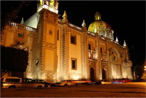Templo de Santa Rosa terminado:  de estilo  por Icaro Studio