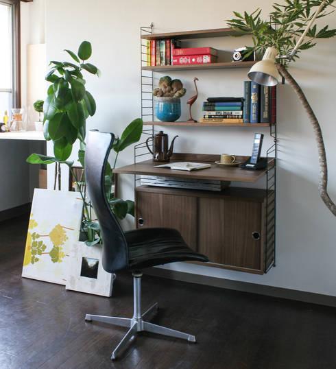 greeniche의  서재/사무실