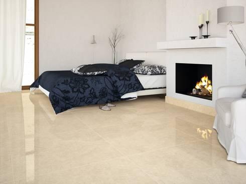 porcelnico imitacin al mrmol argentiere 80x80 dormitorios de estilo clsico de interazulejo - Suelos Porcelanicos