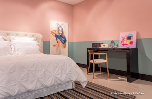 Suite Candy Colors: Gabinete  por Jean Felix Arquitetura
