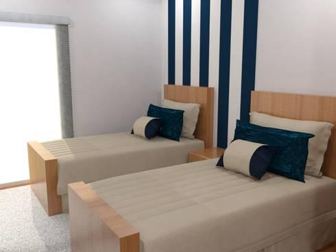 Quarto Duplo: Hotéis  por Palma Interiores