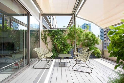 Balconies, verandas & terraces photos by yanina mazzei fotog.
