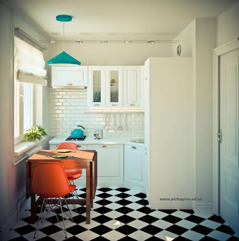 Квартира в доме серии I-464: Кухни в . Автор – Tatyana Pichugina Design