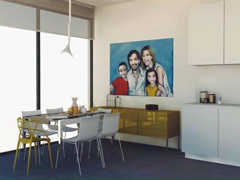 COZINHA: Cozinhas ecléticas por Santiago | Interior Design Studio
