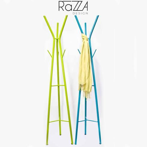 Perchero Arbol: Hogar de estilo  por Razza Design
