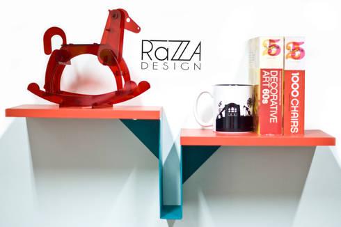 Repisa Golondrina: Hogar de estilo  por Razza Design