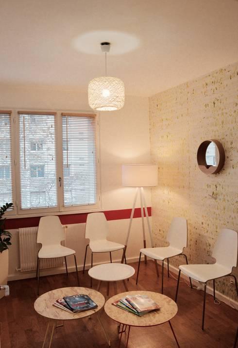 cabinet di t tique sur lyon por colombe marciano homify. Black Bedroom Furniture Sets. Home Design Ideas