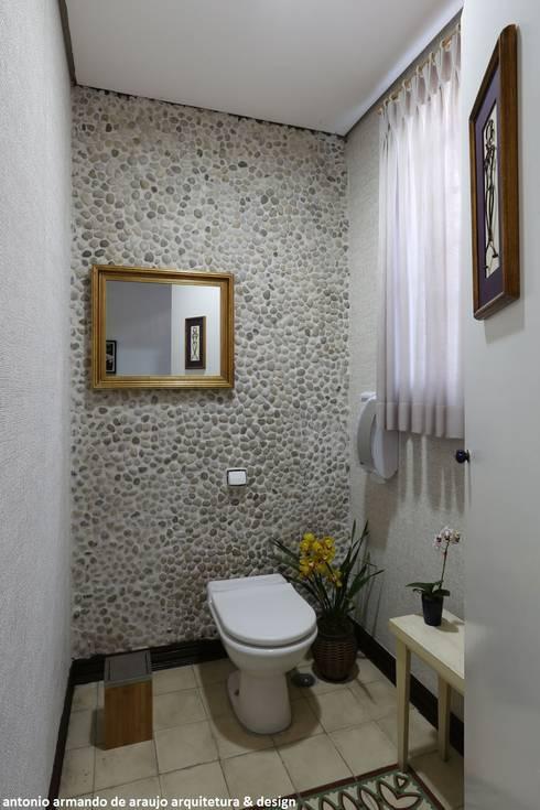 Projekty,  Łazienka zaprojektowane przez Antonio Armando Arquitetura & Design