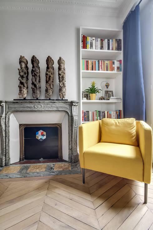 Projekty,  Sypialnia zaprojektowane przez ATELIER FB