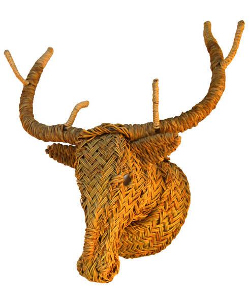 Cabezas de animales de artesania san jose homify for Cabeza de ciervo