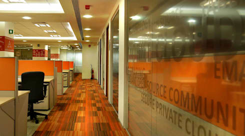 Zimbra Technologies:  Commercial Spaces by axii design consultant pvt.ltd.