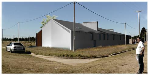 Casa rosetta de diego jobell arquitectos homify for Casa minimalista rosario