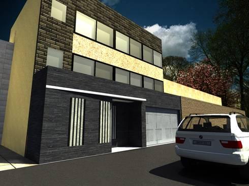 Casa Sanchez: Casas de estilo moderno por Arquitecto Eduardo Carrasquero