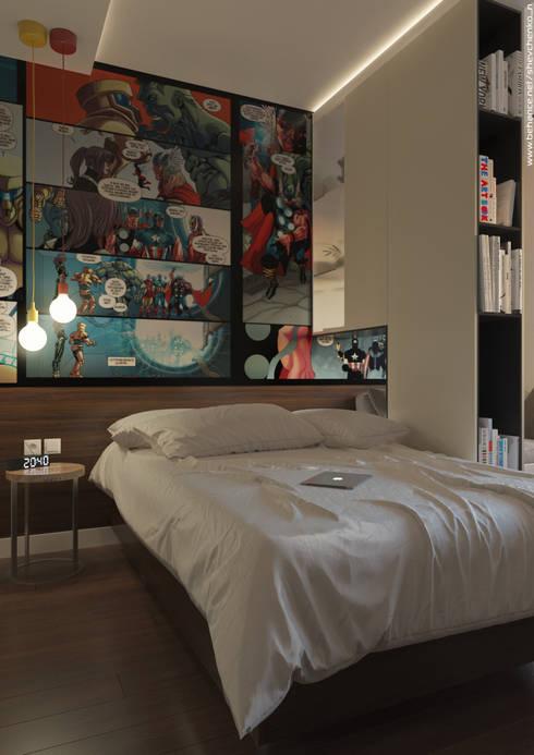 Dormitorios de estilo  por Shevchenko_Nikolay