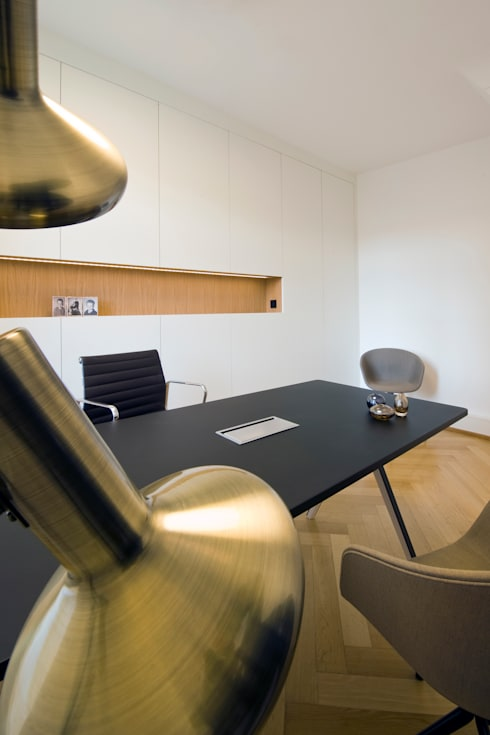Study/office by interior.architects.munich