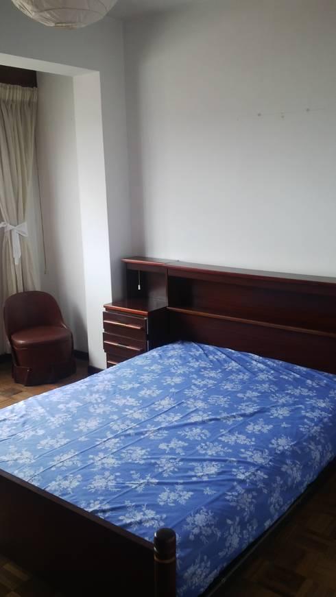 Dormitorio 1 Antes:  de estilo  de Ya Home Staging