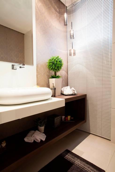 Lavabo: Banheiros modernos por Lima.Ramos.Lombardi Arquitetos Associados