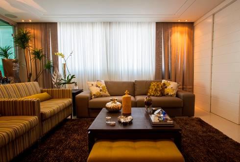 Living: Salas de estar modernas por Lima.Ramos.Lombardi Arquitetos Associados