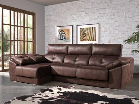 Sof s chaise longue vive el confort de merkamueble homify - Medidas de sofas chaise longue ...