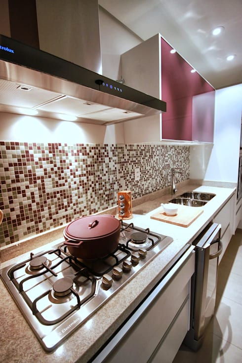 Vila Mascote: Cozinhas modernas por MeyerCortez arquitetura & design