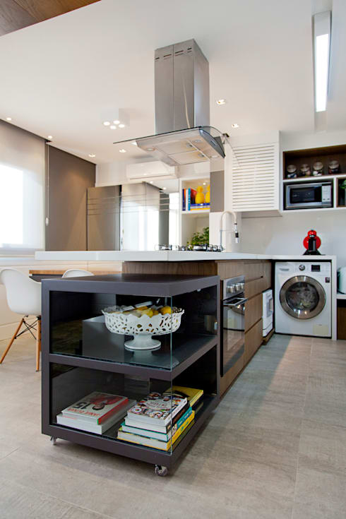 LOFT PORTO ALEGRE: Cozinhas modernas por Joana & Manoela Arquitetura