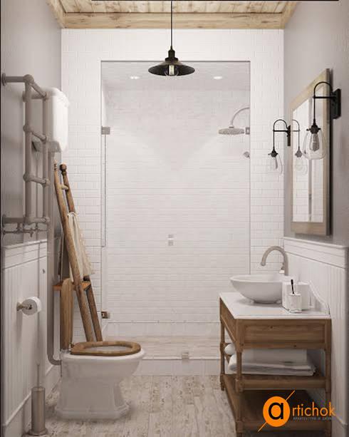 Оригинальный прованс: Ванные комнаты в . Автор – Art-i-Chok