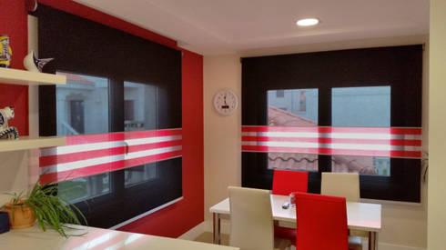 cocinas de estilo moderno por cortinas luis vizcaya