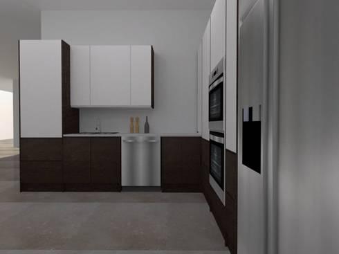 Diseño ArceCocinas: Casas de estilo moderno por ARCE MOBILIARIO