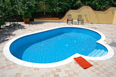 32m2 prefabr k havuz by art yapi havuz sistemleri homify for Cuanto cuesta construir una piscina en colombia