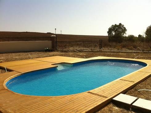 Art yapi havuz sistemleri 32m2 prefabr k havuz homify for Cuanto cuesta hacer una piscina en argentina