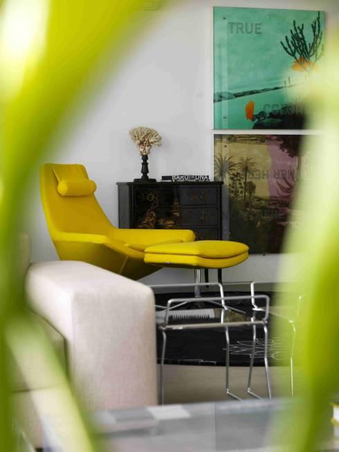 Apartamento Vila Nova Conceição 1: Salas de estar modernas por Antônio Ferreira Junior e Mário Celso Bernardes